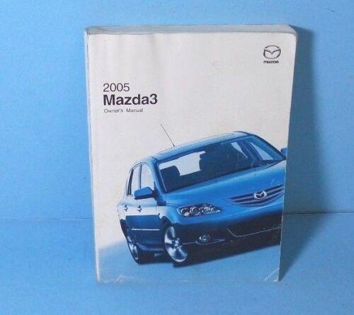 05 2005 Mazda 3//Three owners manual
