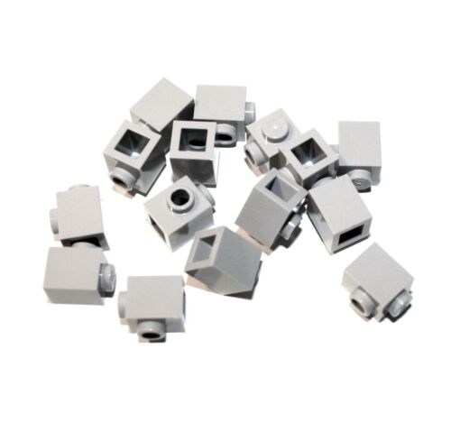 SNOT Konverter 15x LEGO® Stein 1x1 mit seitlicher Noppe 87087 NEU hellgrau