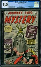 Journey Into Mystery 85 CGC 5.0 - OW/W Pages