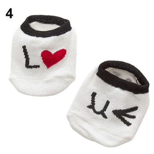 Newly Baby Newborn Infant Floor Sock Boys Girls Kids Rabbit Bear Cotton Socks