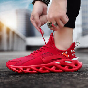 Men-039-s-Fashion-Running-Shoes-Sports-Sneakers-Athletic-Gym-Breathable-Ultralight