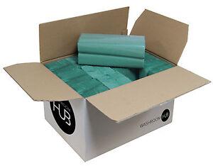 Paquete-De-2400-C-Fold-Toallas-de-papel-para-Bano-Aseo-Azul-Verde-Dispensador-De-Toallas