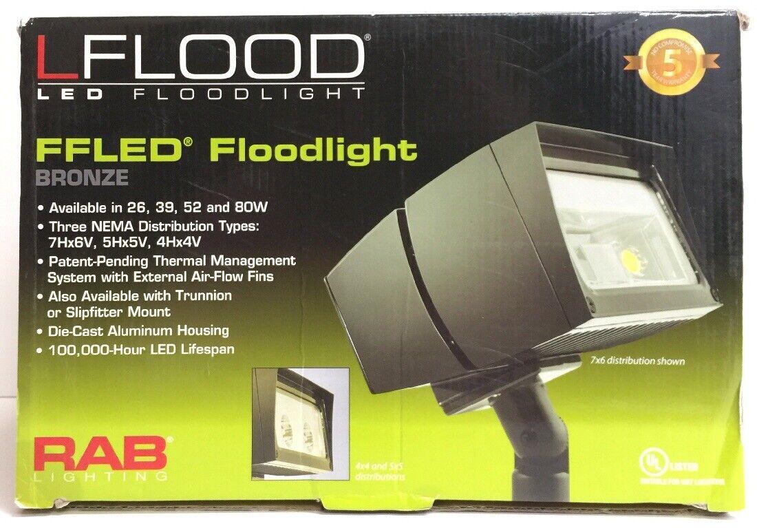 (New) RAB Lflood FFLED Floodlight Bronze