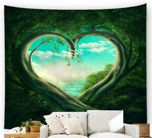 Details about 3D Printed Tapestry Nature Tree Hole Wall Hanging Sandy Beach  Throw Rug Blanket