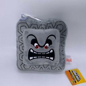 New-Super-Mario-Bros-Thwomp-Cinder-block-Plush-Soft-Toy-Doll-Teddy-6-5-034