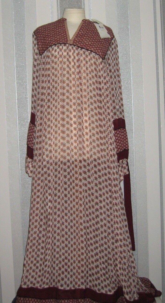 Maison Scotch Bohemian Maxi Dress, Multi  UK Size XL =