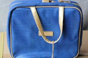 Royal-Edelweiss-Blue-W-Gold-Handle-Cosmetic-Bag
