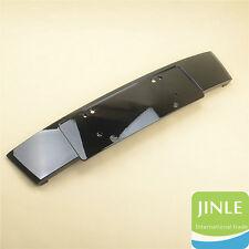Front Licence license Bracket Filler Plate Gloss Bright Black For AUDI Q7 10-15