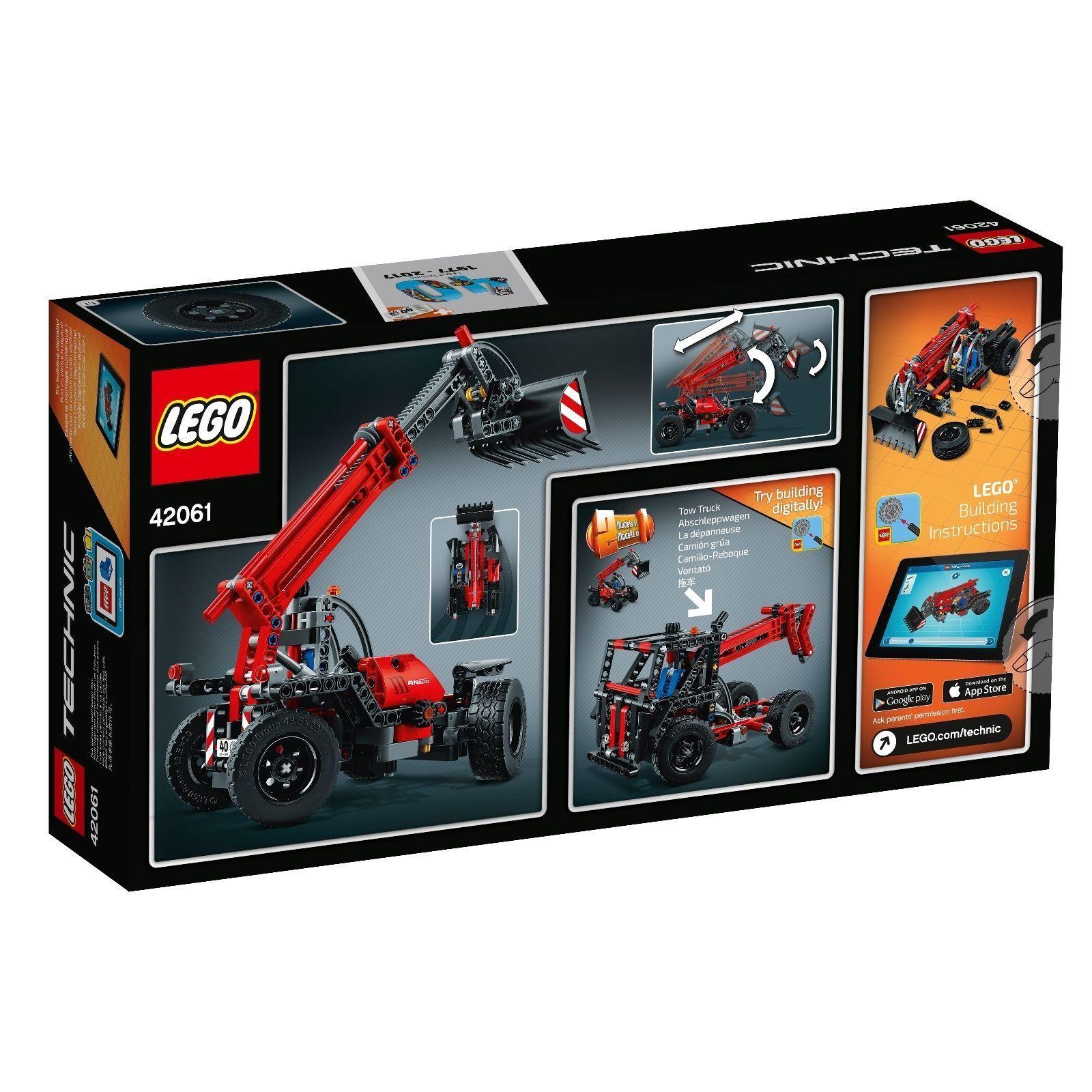 Lego Technic Technic Technic 42061 Teleskoplader Neu Ovp