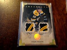 13-14 UD ARTIFACTS GOLD DUAL PATCH #07/15 TYLER SEGUIN BRUINS DALLAS STARS