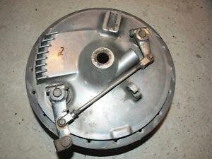 Trommelbremse-Duplex-Bremse-drum-brake-hub-Yamaha-SR-500-XS-650-Harley-BSA-400