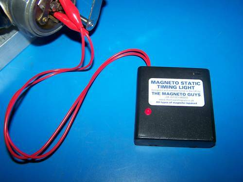 Magneto Static Timing Light for spot on ignition - works with coil ignition too!