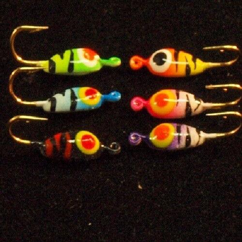 Worlds Best 27 pc Neon Glow Sunfish//Bluegill Kit.