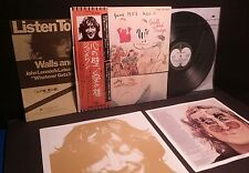 "JOHN LENNON""Walls And Bridges"" Lp Japan Obi-Audiophile Japanese Beatles Fish"
