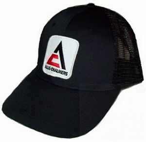 Allis Chalmers New Logo Tractor Black Mesh Hat Cap Gift
