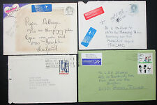 Netherlands Postage Set of 4 Covers Express Diddl Luftpost Briefe (H-10548