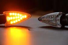 4 PCS LED Turn Signal Lights Indicator Motorcycle Motorbike Scooter ATV Quad New
