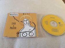 Madonna Like A Prayer German Yellow CD Sire