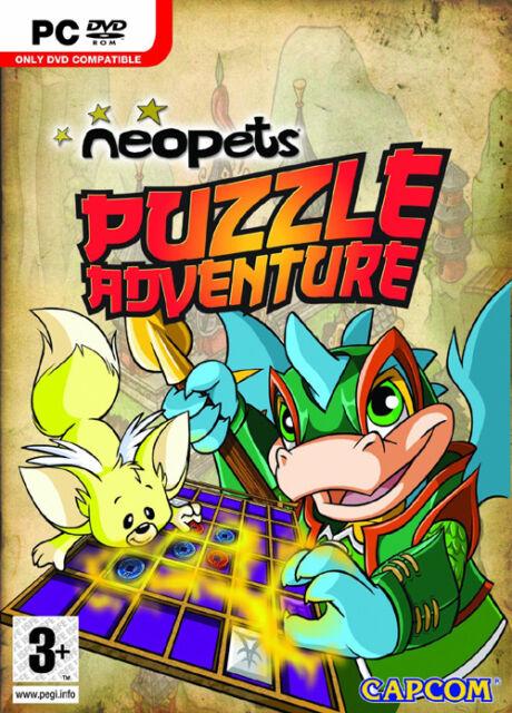 PC : Neopets Puzzle Adventure - (New)