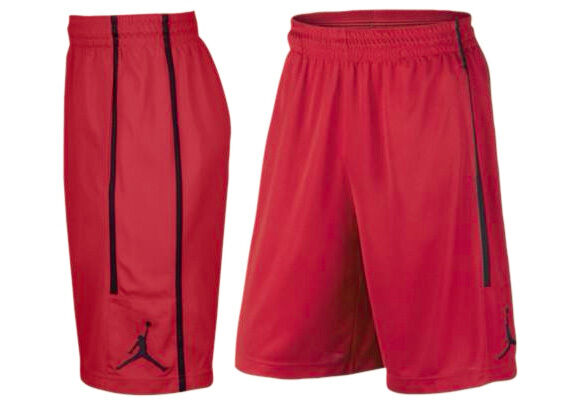 ff069f1a83ad54 Nike Jordan Double Crossover Basketball Active Shorts Red Black Aa1383 687  XL