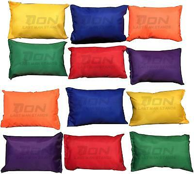 4 Pack Purple Bean Bags Children Kids Play PE Garden Games Juggling Sports Day