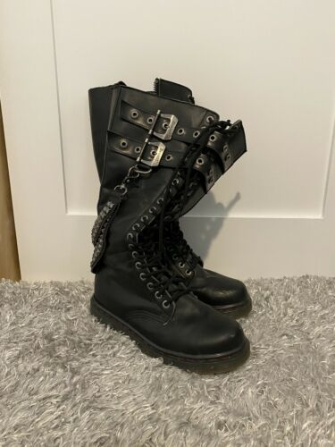 EXTREMELY RARE Demonia Discontinued Boots!! Perfec