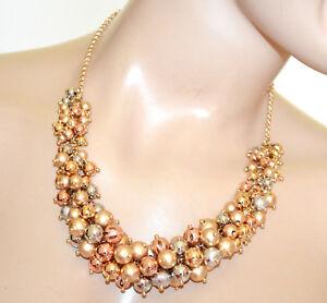 f3f9cc15d257 La imagen se está cargando COLLAR-dorado -mujer-gargantilla-colgantes-oro-rosa-plata-