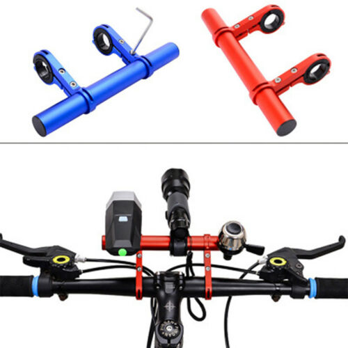 25.4//31.8mm Bicycle Light Handlebar Extender Mount Holder Cycling Bike Frame