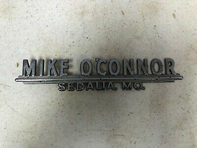 Mike O Connor Chevrolet Sedalia Missouri Dealer Metal Auto Emblem Ebay