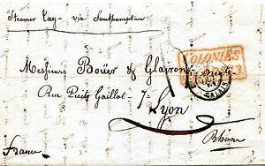 LETTRE-AVEC-TEXTE-DE-PERNAMBUCO-BRESIL-POUR-LYON-ART-13-DU-22-SEPT-1851-TB
