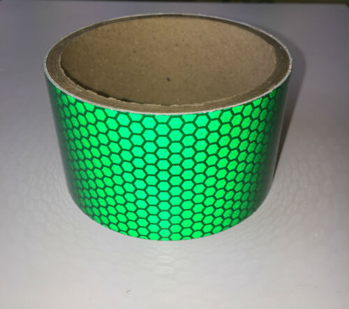 Green Vehicle Van S-Lite Hi-Intensity Prismatic Reflective Self Adhesive Vinyl