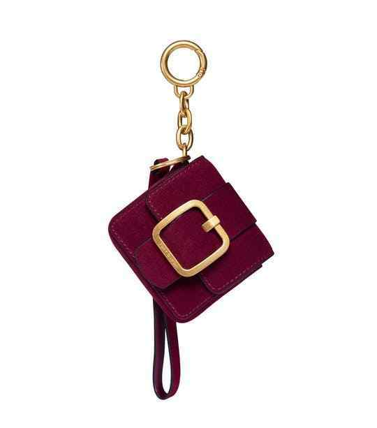 Buy Tory Burch Womens Sawyer Mini Bag Key Fob Imperial Garnet online ... 9daf2c4fa0