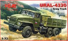 URAL 4320 TRUCK (UNITED NATIONS, SOVIET, GERMAN, POLISH, UKRAINIAN MKGS)1/72 ICM