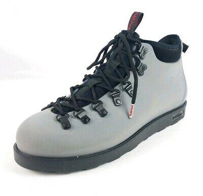 b5838fe6256 Native Fitzsimmons Gray Black Ankle Hike Boot Men's sz. 11   eBay