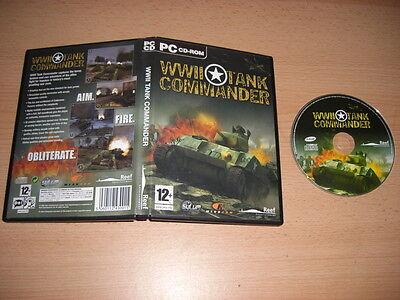 WWII Tank Commander  Pc Cd Rom WW World War II  - FAST POST