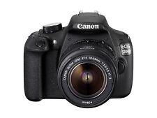 Canon EOS 1200D / Rebel T5 18.0 MP SLR-Digitalkamera - Schwarz (Kit mit EF-S...