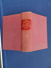Il libro dei mille savi - Palazzi-S.Spaventa-Filippi - Edizione Hoepli 1943