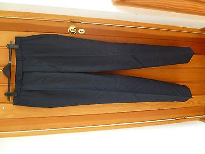 Hosen Zuversichtlich Marks And Spencers Ultimate Indigo Blue Wool Woolmark Suit Trousers 38 34 37leg Moderne Techniken Kleidung & Accessoires