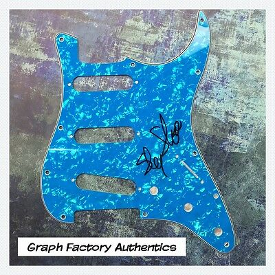 Alert Gfa And The Family Stone Sly Stone Signed Electric Strat Pickguard Proof Coa