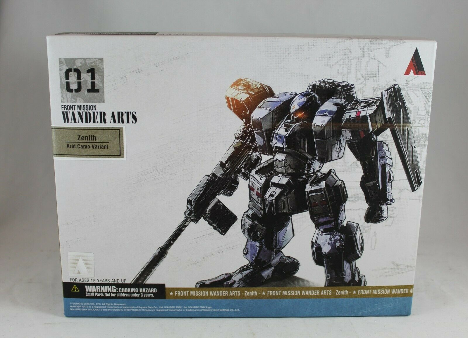 Front Mission1st ZENITH ARID CAMO 4.5  Wander Arts Figure Square Enix New Sealed