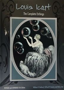 Louis-Icart-The-Complete-Etchings-book-Signed-and-Dedicated-by-author-mint-cond