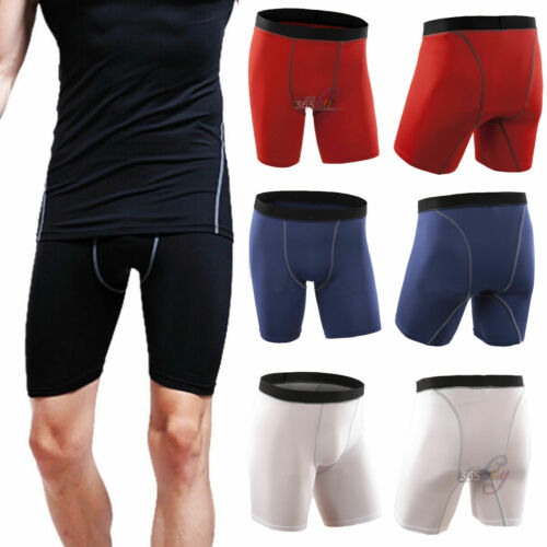 Fit Male Lycra Compression Base Layer Cycle Under Gear Shorts S M L XL UK POST