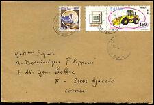 ITALIA 1987 Copertina commerciale per la Francia #c38409