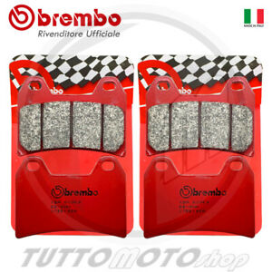 BREMBO 2 COPPIE PASTIGLIE FRENO ANTERIORE SA DUCATI STREETFIGHTER S 1100 2013