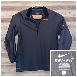 Nike-Oklahoma-State-University-Pullover-Windbreaker-Mesh-Lined-Mens-Size-Large