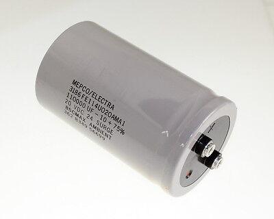 110000uF 20V Large Can Electrolytic Capacitor 110000mfd 110,000 20VDC 15V 15VDC