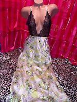 Victorias Secret Silk Gown Designer Collection Full Length Large $129