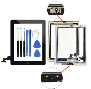 LCD Screen Glass Digitizer replacement for iPad 2 A1395 A1397 A1396 with tools