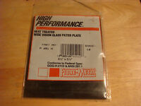 High Performance Wide Vision Heat Treated Glass Filter Plate 4-1/2 x 5-1/4 P451H