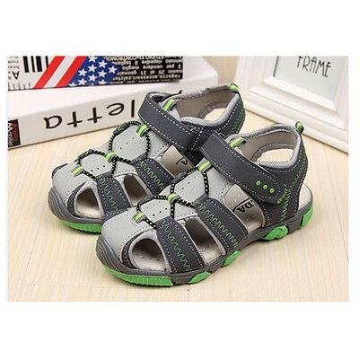 Casual Children Kids Shoes Baby Boys Glirs Closed Toe Summer Beach Sandals Flat